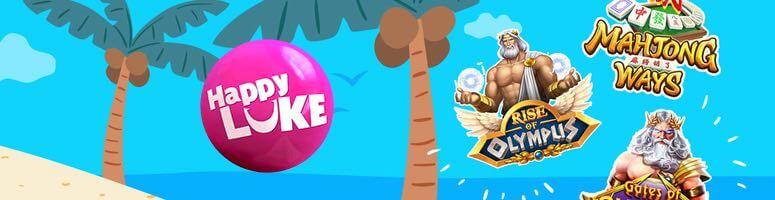 HappyLuke ให้บริการเกมคาสิโน แจ็คพอตกว่า 2,445 เกม ให้คุณเลือกได้ตามใจ